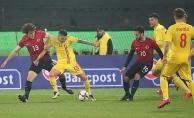 A Milli Futbol Takımı Romanya'ya 2-0 mağlup oldu