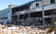 Bursa'da boya fabrikasında patlama: 3 ölü, 8 yaralı