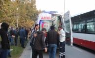 Konya'da işçi servisleri çarpıştı: 8 yaralı