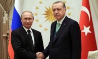 Cumhurbaşkanı Erdoğan'dan Rusya Devlet Başkanı Putin'e başsağlığı mesajı
