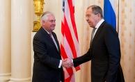 Lavrov ve Tillerson Suriye'yi görüştü