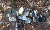 Muş'ta terör operasyonu: Toprağa gömülü halde yaşam malzemesi bulundu