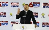 Cumhurbaşkanı Erdoğan: En ufak bir taciz bizim için işaret fişeğidir
