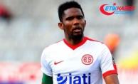 Eto'o'dan Antalyaspor'a teşekkür mesajı