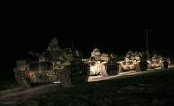 Öncüpınar Sınır Kapısı'ndan Suriye'nin Azez bölgesine askeri araç sevkiyatı gerçekleştirildi