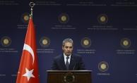 Dışişleri Bakanlığı Sözcüsü Hami Aksoy: Şu ana kadar hiçbir sivil kaybı yaşanmadı