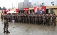 İzmir'de Özel harekat polisleri dualarla Afrin'e uğurlandı