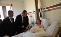 Adalet Bakanı Gül, Zeytin Dalı Harekatı'nda yaralanarak askerleri ziyaret etti