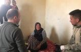 Afrin'de terörden arındırılan köylere insani yardım