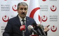 BBP Genel Başkanı Destici: Bu bir uzlaşma paketidir