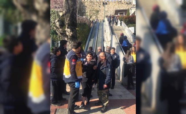 Bursa'da yürüyen merdivende kaza: 8 yaralı