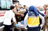 Cezaevi aracı kaza yaptı: 5'i asker 7 kişi yaralandı