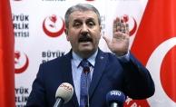 BBP Genel Başkanı Destici: İnanıyorum ki zaferler devam edecek. Afrin'i Menbiç takip edecek