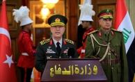 Genelkurmay Başkanı Akar,  Iraklı mevkidaşı Osman el-Ganimi ile görüştü