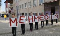 Öğrencilerden Afrin'deki Mehmetçik'e anlamlı destek