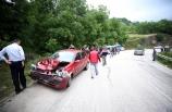 Düzce'de ticari araçla otomobil çarpıştı: 10 yaralı