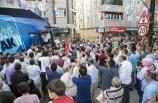 Bakan Soylu, Eyüp'te vatandaşlara hitap etti