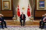 Erdoğan'ın, Bahçeli'yi kabulü sona erdi