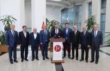 MHP Lideri Bahçeli sendika temsilcilerini kabul etti