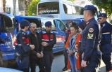 Antalya'da suç örgütü operasyonunda yakalanan 5 şüpheliden 4'ü tutuklandı