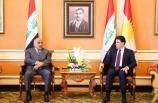 """Irak Başbakanı, Barzani ile """"İran ve ABD gerilimini"""" ele aldı"""