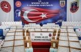 İstanbul'da yaklaşık 8 ton sahte dezenfektan ve yapımında kullanılan malzeme ele geçirildi