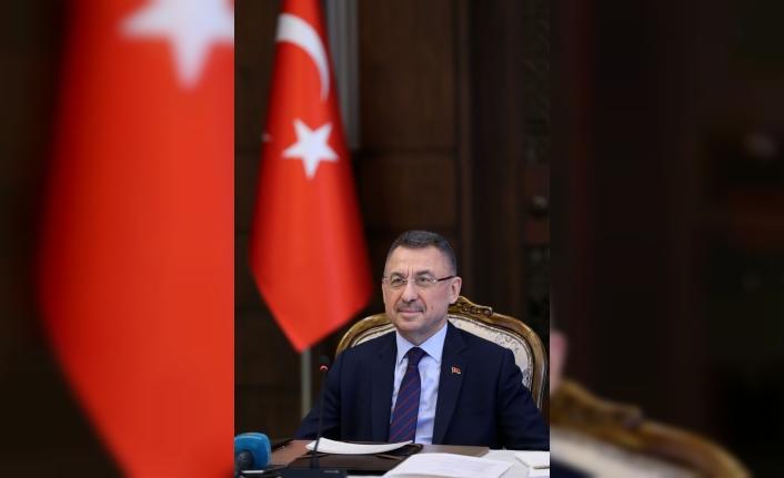 """Cumhurbaşkanı Yardımcısı Oktay: """"Türkiye kriz ortamında bile yatırımcı için güvenilir limandır"""""""
