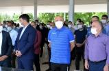 Yeni Malatyaspor Kulübü Başkanı Adil Gevrek'in babası son yolculuğuna uğurlandı