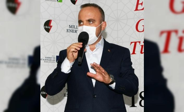 """AK Parti'li Turan: """"İstanbul Barosu ve CHP'li yöneticiler, milletimize ve şehit savcımıza ihanet etmiştir"""""""