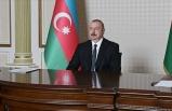 Aliyev, Ermenistan'ın sivillere saldırmasının yanıtını savaş meydanında vereceklerini açıkladı