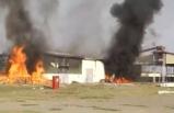 Ermenistan, Azerbaycan'ın Terter kentindeki bir pamuk fabrikasını vurdu