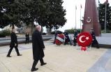 Cumhurbaşkanı Erdoğan, Haydar Aliyev'in kabri ile Türk ve Azerbaycan şehitliklerini ziyaret etti