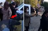 HDP'li vekilin, gözaltına alınan terör şüphelisinin cebindeki telefonu alması kameraya yansıdı