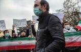 İran'ın Tebriz kentindeki Türkiye Başkonsolosluğu önünde gösteri düzenlendi
