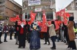 Şırnak'a terör mağduru aileler HDP İl Başkanlığı önünde eylem yaptı