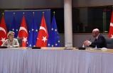 Erdoğan'ın, Leyen ve Michel ile videokonferans görüşmesine ilişkin açıklama