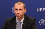 """UEFA Başkanı Ceferin:""""Christian Eriksen'in bir an önce sağlığına kavuşmasını diliyorum"""""""