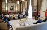 Cumhurbaşkanı Erdoğan, şehit Savcı Kiraz'ın anne ve babasını kabul etti