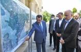 Ulaştırma ve Altyapı Bakanı Karaismailoğlu, Azerbaycan'da işgalden kurtarılan bölgelerde incelemelerde bulundu: