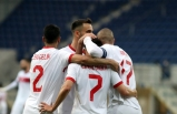 A Milli Futbol Takımı, son hazırlık maçında Moldova'yı mağlup etti