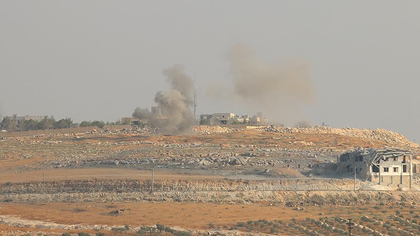 Terör örgütü PKK/PYD Azez'in Maarin köyüne saldırdı