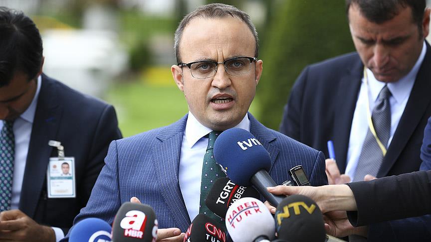 AKP'li Turan: CHP hiç büyümeyen bir ergen çocuk gibi davranmaya devam ediyor