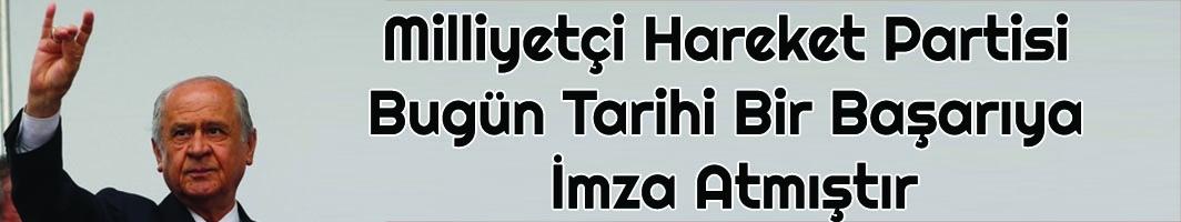 MHP Lideri Bahçeli: Üç Hilal sancağını düşürmediniz, dilerim ki, sizler de hayat boyu düşmezsiniz