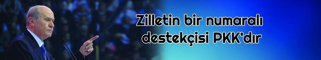 MHP Lideri Bahçeli: Zilletin bir numaralı destekçisi PKK'dır