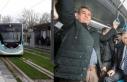 İzmir'de Konak tramvayı yolculu seferlere başladı