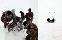 Kato'da donma tehlikesi geçiren korucu, böyle...