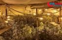 Polisin dikkati uyuşturucu imalathanesini ortaya...