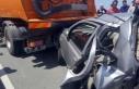 Rize'de zincirleme kaza: 1 ölü, 1 yaralı