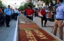 Hatay'ın ana vatana katılışı 79 metrelik...