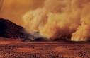 Satürn'ün uydusu Titan'da kum fırtınaları...